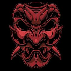 "432 To se mi líbí, 15 komentářů – Jared Mirabile (@sweyda) na Instagramu: ""Finished. #vector #samurai #mask #illustration #adobe #illustrator #sweyda"""
