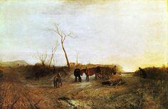 'Eisiger Morgen', öl auf leinwand von William Turner (1789-1862, United Kingdom)