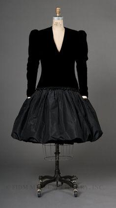 Evening dress, Yves Saint Laurent, 1980-81