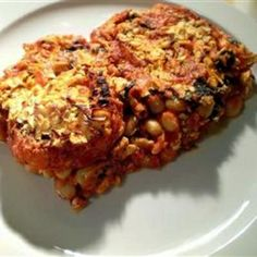 Barbecued Baked Beans #bean #recipe