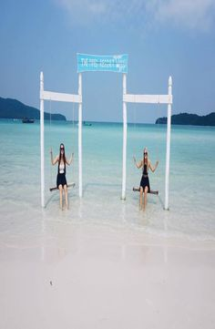 Koh Rong and Koh Rong Samloem is located on the coast of Sihanoukville in the South of Cambodia. A backpacker Guide to Koh Rong/Samloem Koh Rong Samloem, Cambodia, Backpacking, Coast, Island, Explore, Beach, Water, Travel