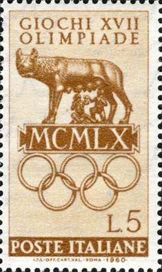 Italy Stamp - Emesso il 25 giugno 1960 5 L. - Lupa di Roma