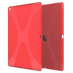 X line tpu soft Gel skin back cover case protect your iPad PRO-Red – Anbond