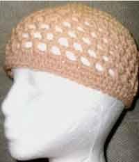 Single Crochet Hat Pattern For Beginners : Rainbow / Pride crochet Kippah Yarmulke Handmade by ...