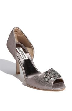 Badgley Mischka 'Salsa' Pump available at #Nordstrom -- my mother of the bride shoes.