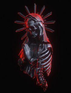 † Stigmata † on Behance Dark Fantasy Art, Dark Art, Arte Horror, Horror Art, Inspiration Art, Art Inspo, Art Sinistre, Art Noir, Skull Reference