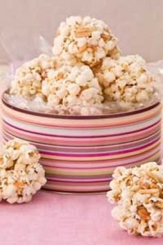 Paula's Popcorn Nut Balls