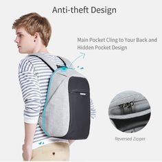 """Promising review: """"I bought this backpack for my son for when he's traveling out of the country, but he couldn't wait to use it so he's been using it daily for school. He's gotten nothing but compliments about it. The bag is very well-made, with high-quality fabric. I would absolutely recommend this to anyone!"""" –KatieGet it from Amazon for $36.99+ (available in three colors)."""