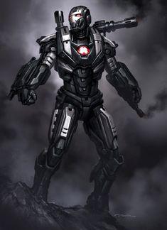 iron man armor concept art - Google Search