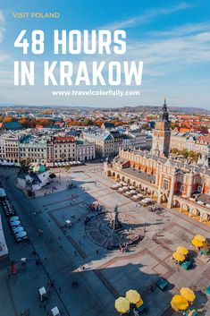 Spending 48 hours in Krakow, Poland is the perfect amount of time to really experience the city and all it has to offer. From the sights to the food. Backpacking Europe, Europe Travel Guide, Travel Guides, Europe Packing, Packing Lists, Travel Packing, Travelling Europe, Food Travel, Air Travel