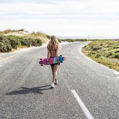 Girls it's longboard time! #longboard #getonboard #allboardsports #summer #brunotti