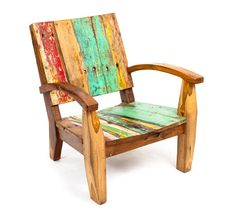 So fun - I love stuff made from old boat wood! Boat Furniture, Iron Furniture, Furniture Making, Furniture Sale, Wooden Wall Decor, Wooden Sofa, Wooden Diy, Recycled Pallets, Wood Pallets