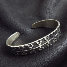 Silver Viking bracelet from Gotland by Sulik on Etsy