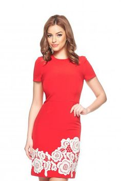 Rochie Glance Red