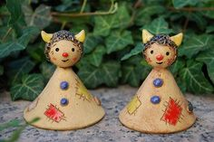 For purchase- Good site Ceramic Clay, Ceramic Pottery, Clay Projects, Projects For Kids, Ceramic Figures, Paper Mache, Polymer Clay, Shapes, Christmas Ornaments