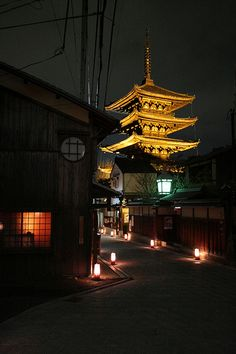 Nocturnal Kyoto, Japan