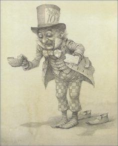 Illustrations for Lewis Carroll's Alice in Wonderland by Australian artist Robert Ingpen. Source: Book Graphics.