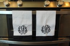 The Monogrammed Life: The Monogrammed Dish Towel Casual Groom Attire, Casual Grooms, Vintage Embroidery, Embroidery Designs, Embroidery Fashion, Embroidery Stitches, Welcome To My House, Home Board, Porch Lighting