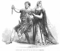 shakespeare illustration macbeth   Shakespeare: Macbeth, 1845 Photograph