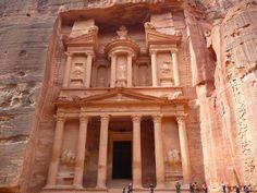 El Tesoro de Petra en Jordania