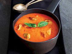 Brüksel lahanalı domates çorbası