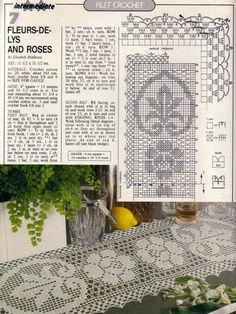 caminho de mesa rosas.jpg (1015×1352)