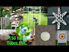 Reciclaje de Tubos PVC +150 Ideas / Recycling PVC pipes +150 Ideas - YouTube