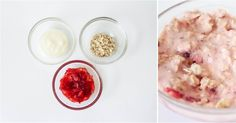 Strawberry & Oatmeal Facemask