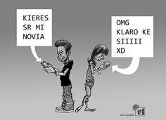 Textear en español: es una realidad, ya que la RAE lo ha aceptado. ¿Lo hacen así nuestros estudiantes?