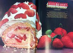 Chatelaine recipe redux circa 1976: Strawberry shortcake roll