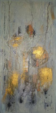 A World without Us by Christine East from the 'From Natural to Abstraction' open art exhibition at Harbour House, spring 2017