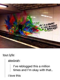 True meaning of street art My Tumblr, Tumblr Posts, Tumblr Funny, Cassandra Calin, Bubbline, A Silent Voice, Wow Art, Jolie Photo, Claude Monet