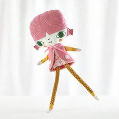 Go Go Dolls – Suzy Ultman for Land of Nod – designer toys for kids   Small for Big
