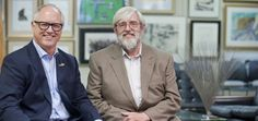 Ken Farmer (left) and Paul Quinn, partners in the new Charlottesville, Va.-based business known as Quinn & Farmer Auctions.