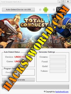 Total Conquest Hack working with iOS and Android download only from: http://hacks4world.com/total-conquest-hack-android-ios/  Total Conquest Hack Features: Crowns generator Food generator Gold generator Token generator  Total Conquest Hack working with iOS and Android download only from: http://hacks4world.com/total-conquest-hack-android-ios/