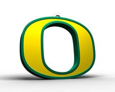"Oregon ""O"" Logo Ornament"