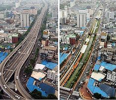 In 2002, the mayor of Seoul, Lee Myung Bak, made a decision to demolish the Cheonggyecheon expressway and restore the polluted stream underneath. The project overall had a positive impact on the city and its environmental footprint. However, the project negatively impacted the low-income vendors who were displaced and whose businesses subsequently suffered. The project was certainly beneficial for wealthier citizens, but not for everyone. :wwf.panda.org