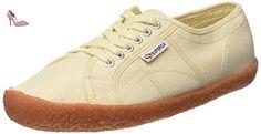 Superga 2750 NAKED COTU - Sneakers basses femme - Beige (Ivory) - 44 EU (9.5 UK) - Chaussures superga (*Partner-Link)
