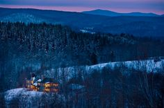 For a romantic and rustic getaway, look no further than Twin Farms in Barnard, Vermont. | 12 Stunning American Hotels You'll Want To Live In Forever