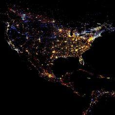 Nighttime Lights of the World