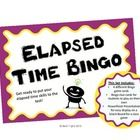 Elapsed time made easier with my What's the TIME-O Bingo!Students will practice telling time skills with this fun elapsed time game! This set inc...