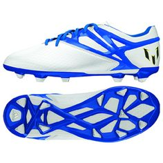 2bc98d70a adidas Youth Lionel Messi 15.1 TRX FG Soccer Shoes (White)   SoccerEvolution
