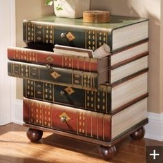 Bookish drawers.