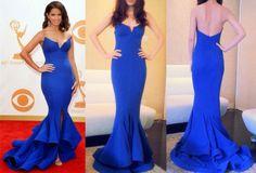 Buy 2014 New Elegant Rocsi Diaz Emmy Awards V Neck by leleandleah, $165.00