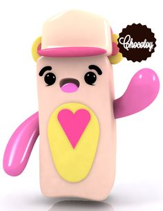 Character Design ChocoToy by ChocoToy , via Behance