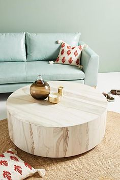 Swirled Drum Coffee Table #Anthropologie #Promotion