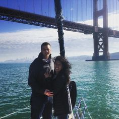Another successful engagement while sailing sf bay. Sailing Charters, Brooklyn Bridge, Engagement, Instagram Posts, Travel, Viajes, Destinations, Engagements, Traveling