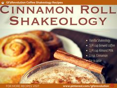 Yum I mean who doesn't Love a #CinnamonRoll Shakeology Recipe. This one also has the freshly brewed #coffee to kick it up a notch. Enjoy!!