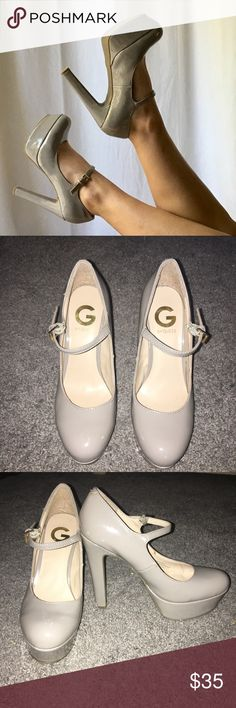 Guess High Heals Lightly worn. Great Condition but little scratch on the left foot G by Guess Shoes Heels