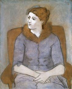 Pablo Picasso - Madame Picasso Olga, 1923
